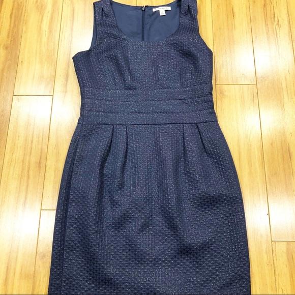 Banana Republic Dresses & Skirts - Banana Republic Navy Textured Dress